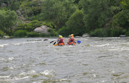 persevere: Rafting on Southern Bug river Editorial