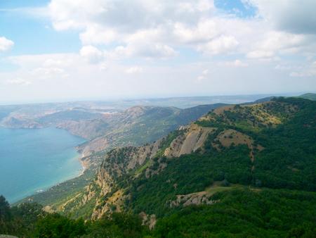 annexation: Black sea coast in Crimea