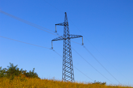 High voltage power tower