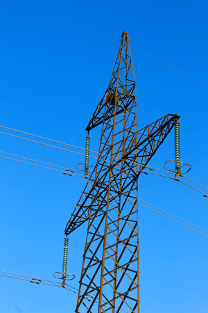 power tower: High voltage power tower