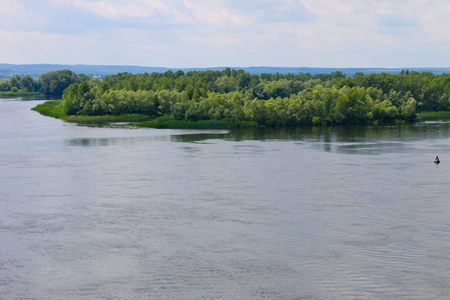 dnepr: View on the river Dnieper