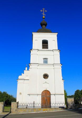 cossacks: St. Elias Church in Subotiv village, Ukraine Stock Photo