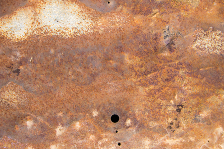 corrosion: Old rusty metal texture. Grunge background Stock Photo