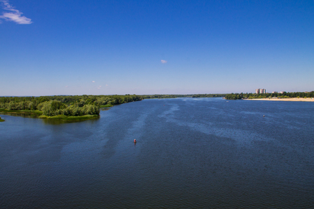 dnepr: View on the river Dnieper in Ukraine