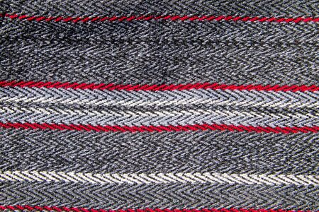 stripy: Texture of the wool fabric for background