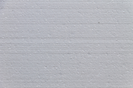 Texture of the of white polystyrene material for background