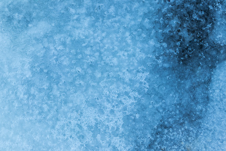 Texture of the ice surface. Winter background Stock Photo