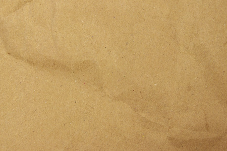 Brown eco paper background. Recycled paper texture Stockfoto