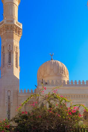 Ð¡entral mosque in Hurghada, Egypt Archivio Fotografico