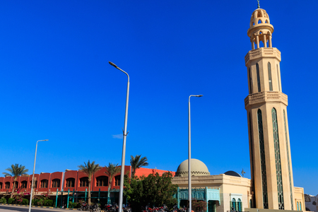 Mosque in Hurghada city, Egypt