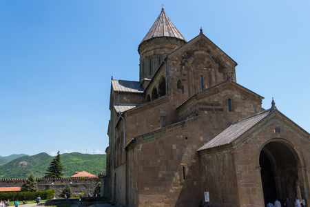 Svetitskhoveli Orthodox Cathedral in Mtskheta, Georgia