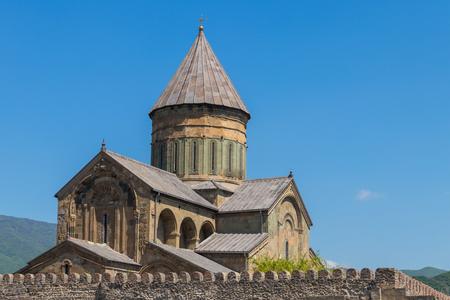 Svetitskhoveli Orthodox Cathedral n Mtskheta, Georgia Stockfoto