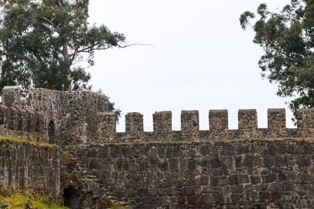 Old byzantine Gonio fortress near Batumi, Georgia