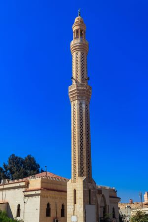 Mosque in Dahar neighborhood (old town of Hurghada) in Egypt