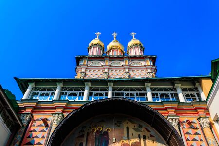Church of the Nativity of St. John the Baptist in Trinity Lavra of St. Sergius in Sergiev Posad, Russia