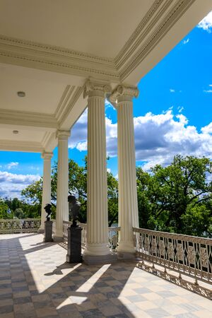 Cameron gallery at the Catherine Park in Tsarskoye Selo, Pushkin, Russia