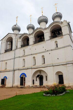 Belfry of Assumption Cathedral in Rostov Kremlin, Russia