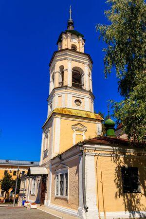 Planetarium in former Nikolo-Kremlin Church(18th century) in Vladimir, Russia. Golden ring of Russia