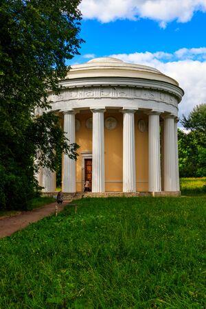 Temple of Friendship pavilion in Pavlovsk park, Russia