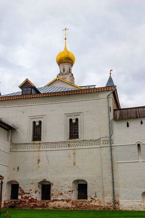 Church of the Savior on the Inner Porch in Rostov Kremlin, Russia. Golden ring of Russia