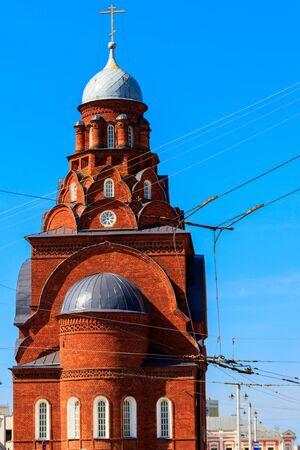 Trinity church in Vladimir, Russia. Golden ring of Russia
