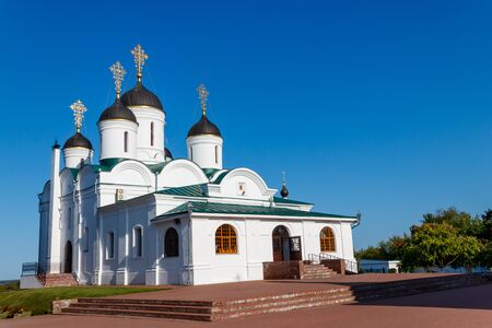 Transfiguration cathedral in Transfiguration monastery in Murom, Russia