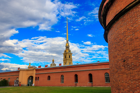 Peter and Paul fortress in St. Petersburg, Russia