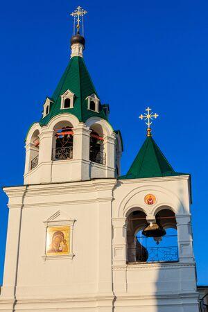 Pokrovsky temple of Transfiguration monastery in Murom, Russia 版權商用圖片