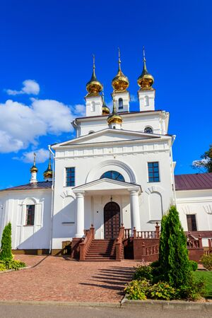 Holy Dormition Monastery in Ivanovo, Russia Stock fotó