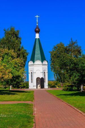 Chapel in Transfiguration monastery in Murom, Russia