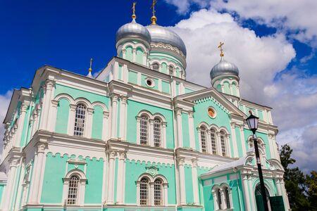 Trinity cathedral of Holy Trinity-Saint Seraphim-Diveyevo Monastery in Diveyevo, Russia