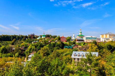 View of the Vladimir city in Russia Banco de Imagens