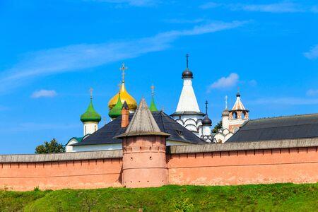 Monastery of Saint Euthymius in Suzdal, Russia Banco de Imagens - 134833867