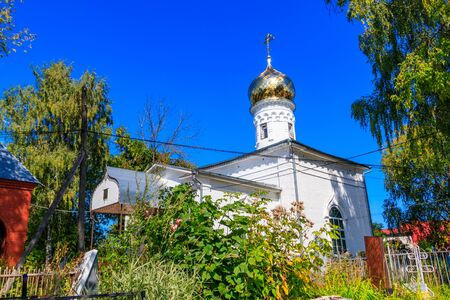 Church of Holy Martyrs Guriy, Samon and Aviv in the village Karacharovo near Murom, Russia