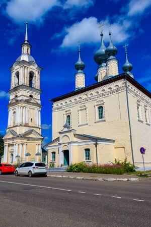 Smolensk church in Suzdal, Russia. Golden ring of Russia