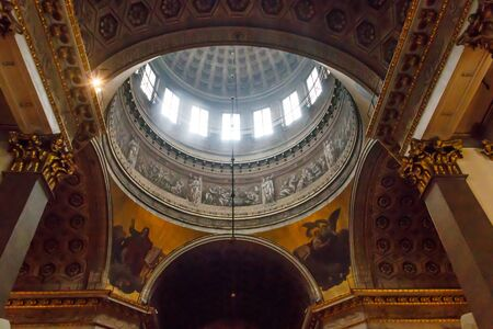 Interior of Kazan cathedral in St. Petersburg, Russia 写真素材