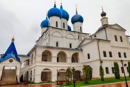 Vysotsky monastery in Serpukhov, Moscow oblast, Russia 写真素材