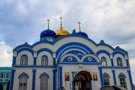 Church of the Nativity of the Blessed Mary in Nativity of Our Lady Monastery in Zadonsk, Russia
