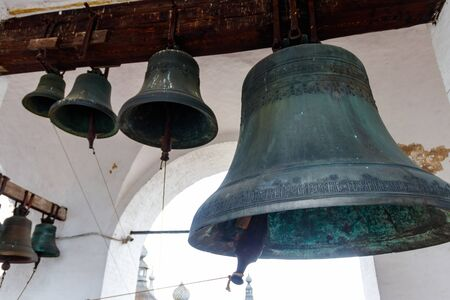 Close-up of orthodox church bells