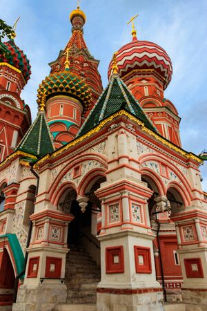 St. Basils Cathedral on Red Square in Moscow, Russia