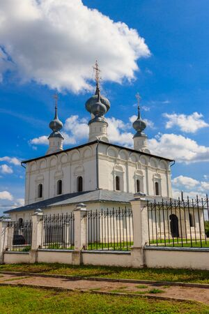 Peter and Paul Church in Suzdal, Russia. Golden ring of Russia