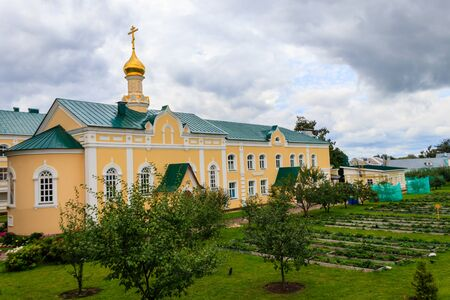 Church in honor of the Icon of the Blessed Virgin Mary Healer in Holy Trinity-Saint Seraphim-Diveyevo convent in Diveyevo, Russia