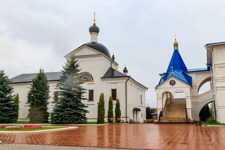 Vysotsky monastery in Serpukhov, Moscow oblast, Russia Banco de Imagens