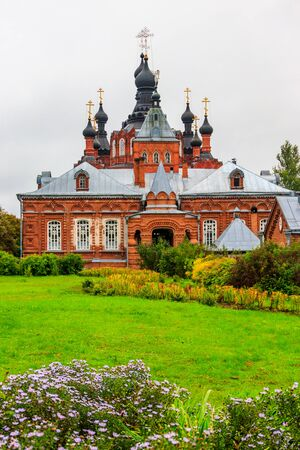 Shamordino Convent (Convent of St. Ambrose and Our Lady of Kazan) is a stauropegial Russian Orthodox convent in village of Shamordino, Kaluga Oblast, Russia