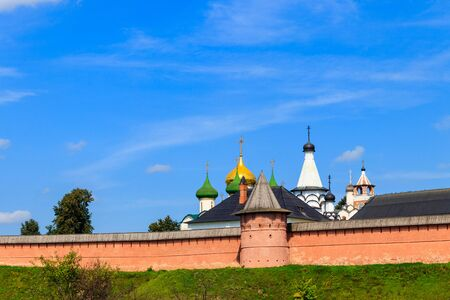 Monastery of Saint Euthymius in Suzdal, Russia