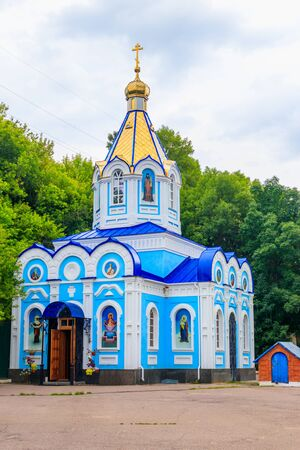 """Church in the name of the icon of the Mother of God """"life-giving Spring"""" in Nativity of Our Lady Monastery in Zadonsk, Russia"""