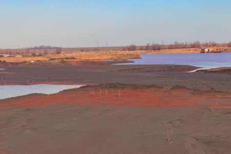 Technical settler of industrial water of mining industry in Kryvyi Rih, Ukraine