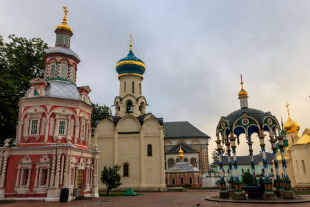 Trinity Lavra of St. Sergius in Sergiev Posad, Russia 写真素材 - 152419101