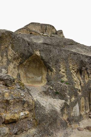 Old cave city Uplistsikhe in Caucasus mountains, Georgia