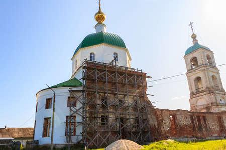 Holy Trinity Church in the village Karacharovo near Murom, Russia